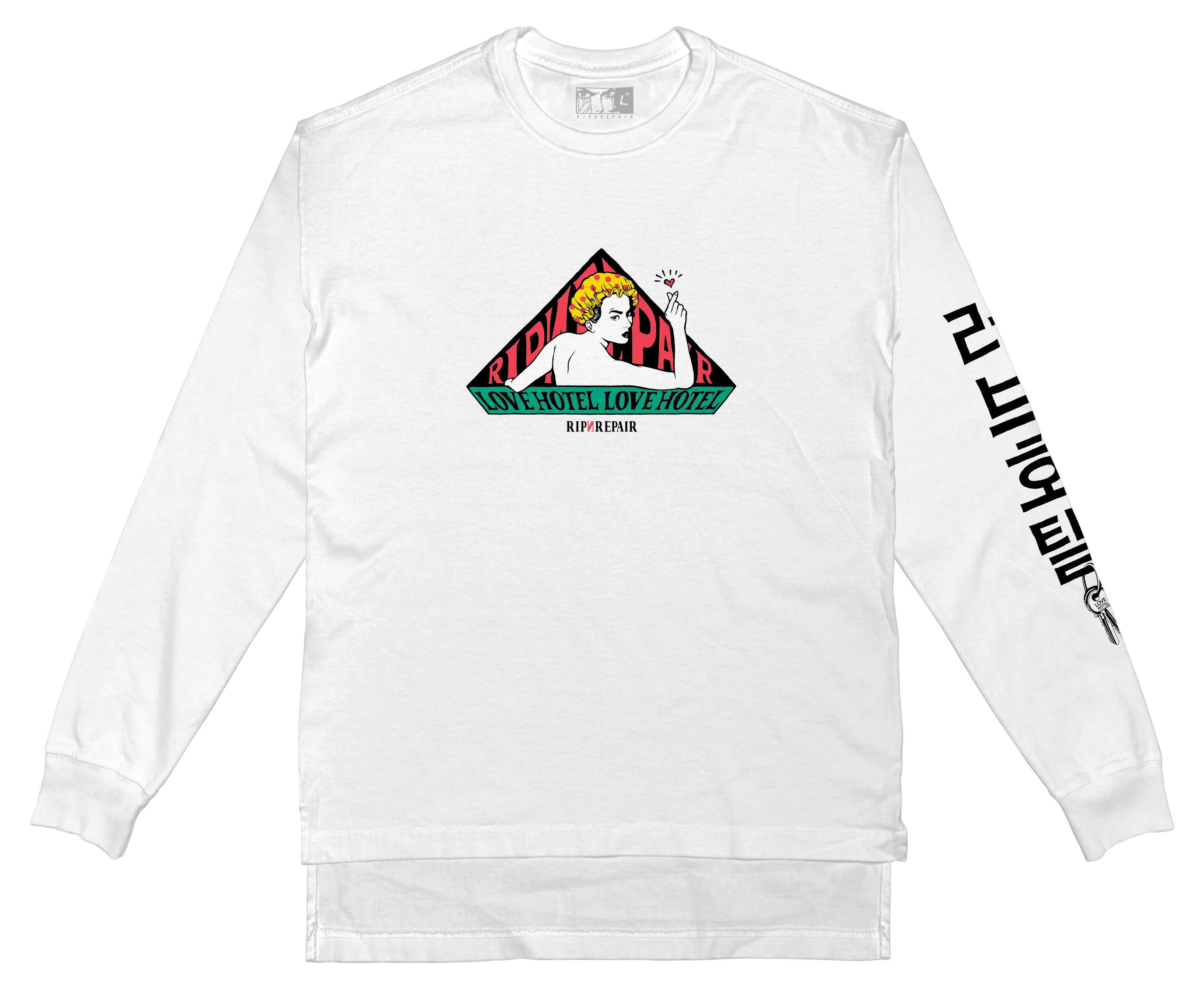 No Vacancy - Long Sleeve (White)
