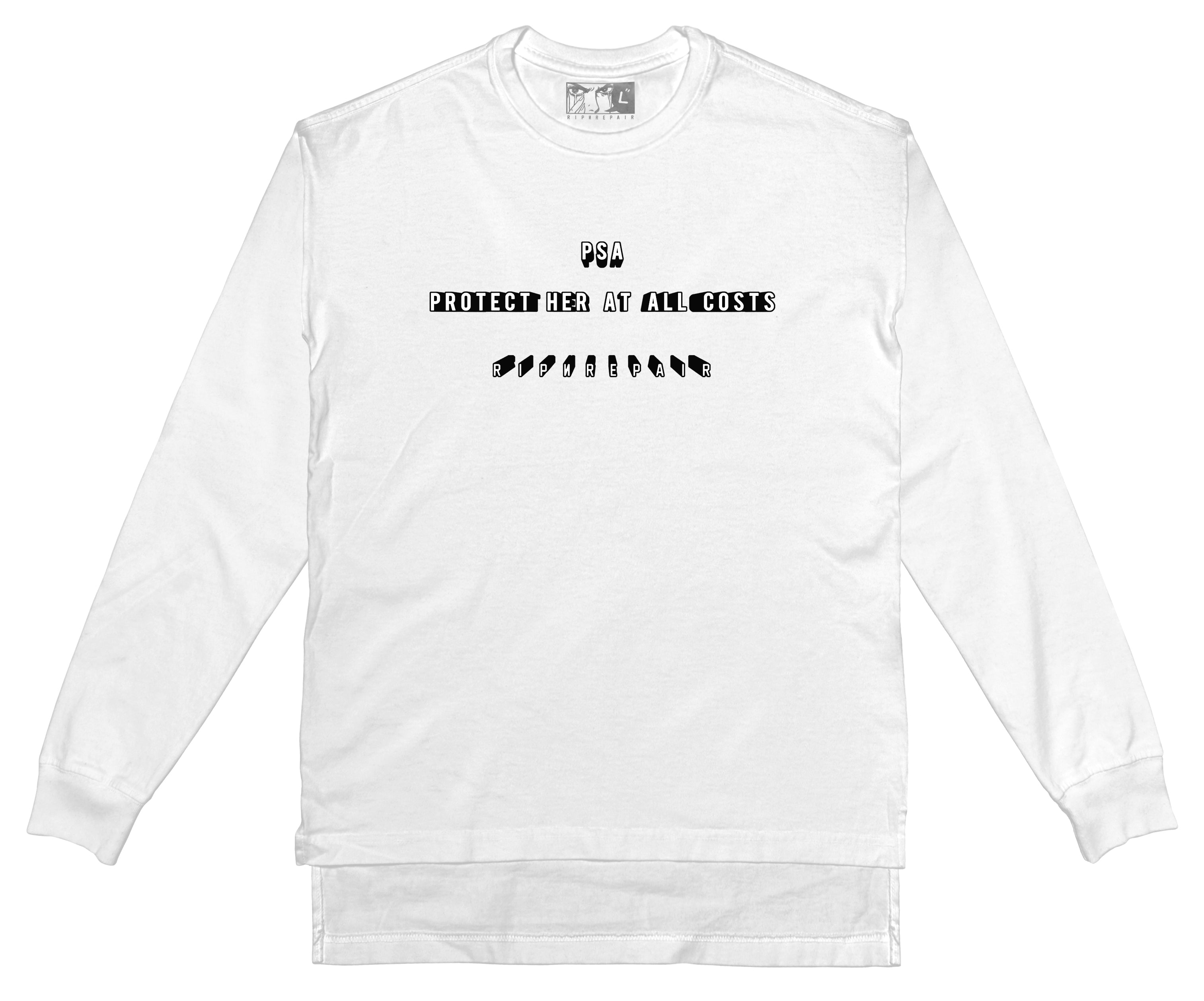 PSA - Long Sleeve (White) - RIPNRPR