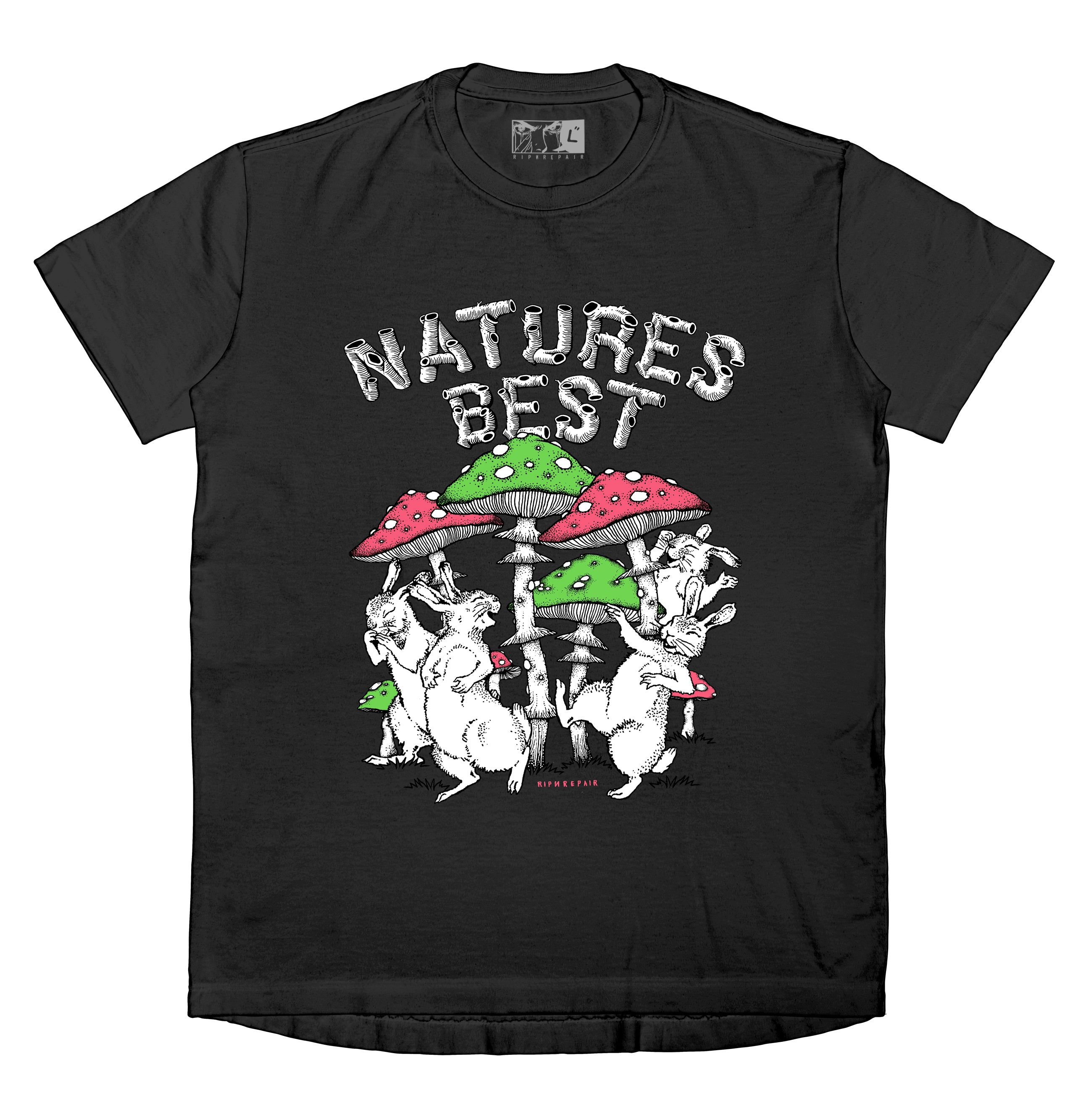 Natures Best - T-Shirt (Black) - RIPNRPR