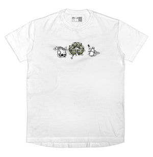 WASTE MANAGEMENT - T-Shirt (White) - RIPNRPR