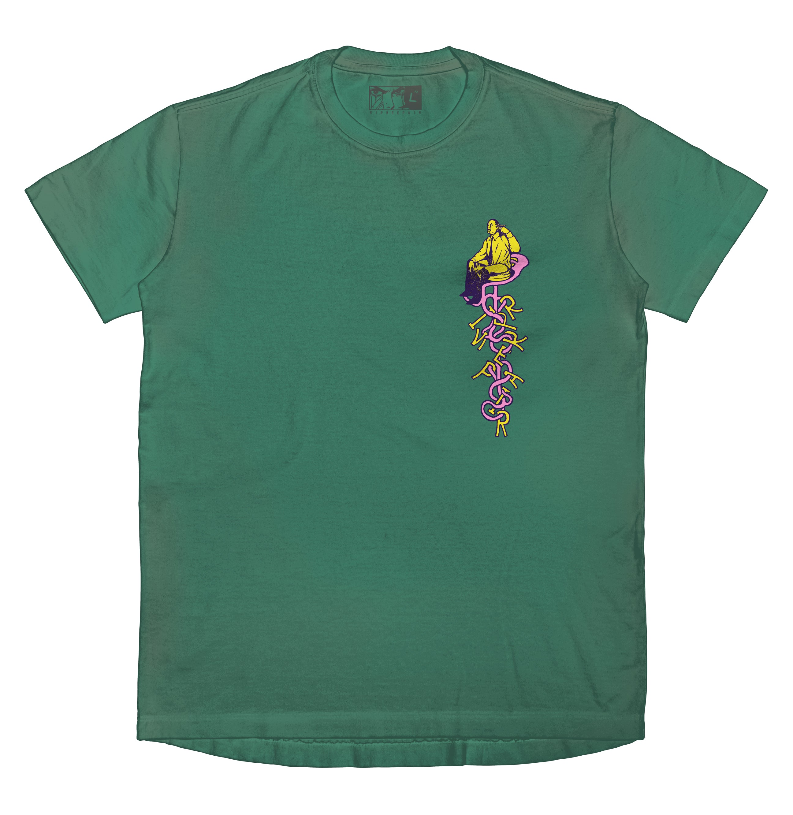Processing - T-Shirt (W.Green) - RIPNRPR