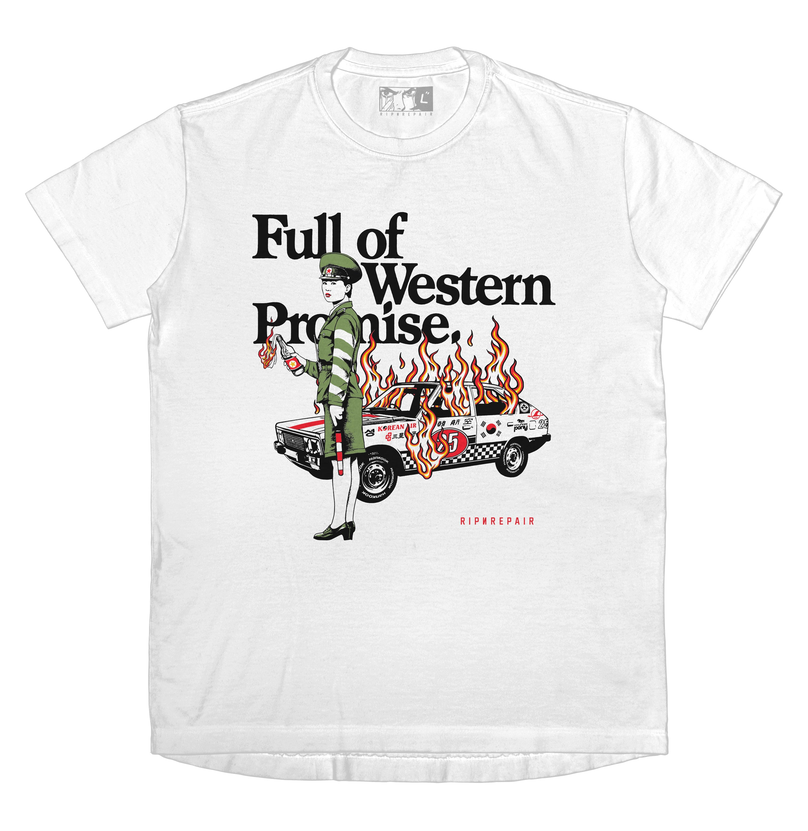 Full of Western Promise - T-shirt (White)