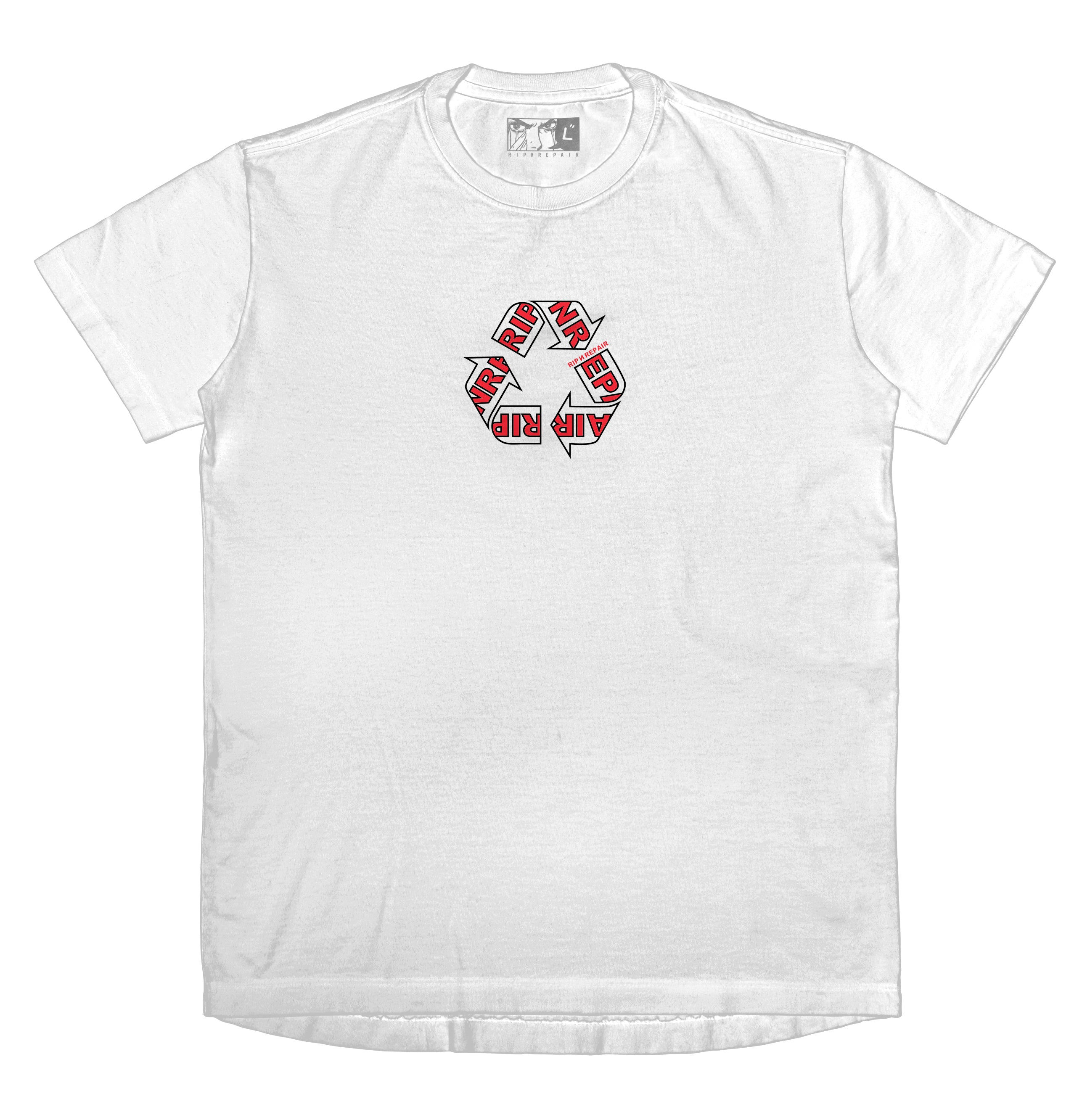 WORK IN PROGRESS - T-Shirt (White) - RIPNRPR