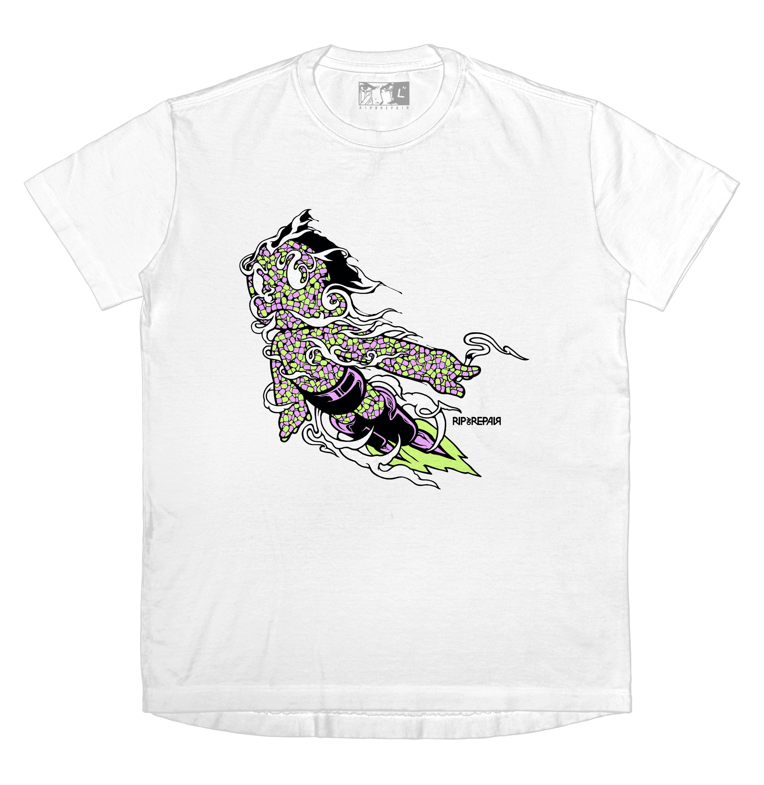 Might Atom - T-Shirt (White)