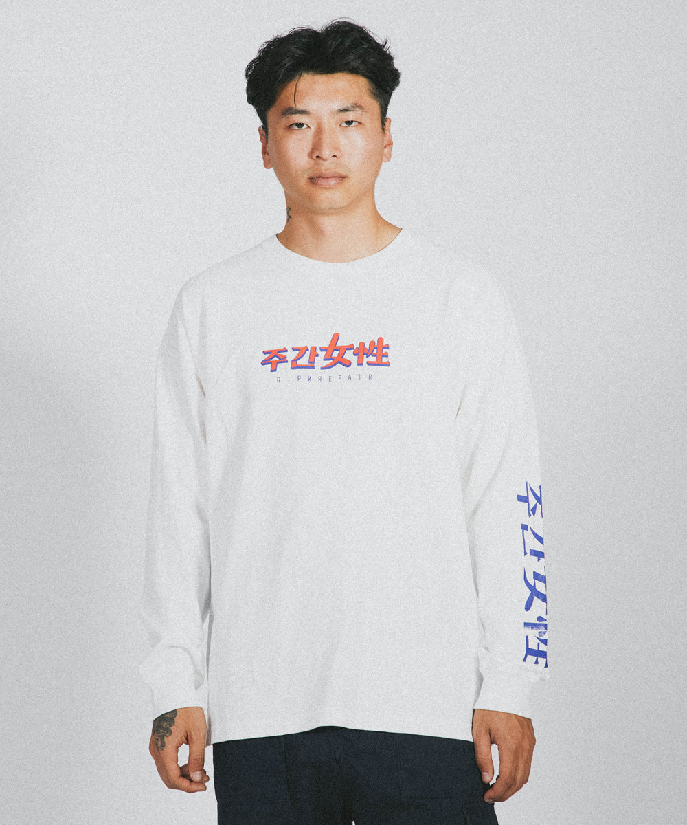 The Weekly Vol. 02 Long Sleeve - OFF WHITE