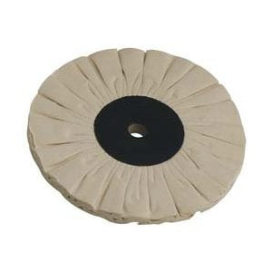 "Buffing Wheel--Fray Rite Bias Buff 6"" diameter"