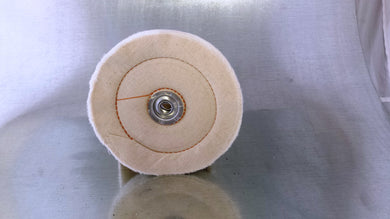 Dico cushion sewn buffing wheel 1/2