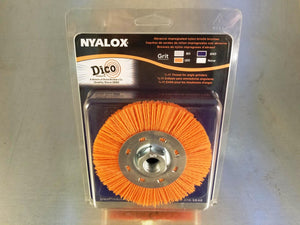 "Nyalox 4 ½"" x 5/8-11 Threaded Wheel Brush"