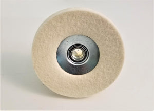 Felt Buffing Bevel Disc for Angle Grinders