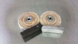"Buffing Kit 4"" dia for Steel & Hard Metals  7500005"