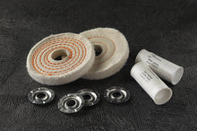 "Buffing Kit 4"" diameter for Copper, Brass, Aluminum & Soft Metals - 7500007"
