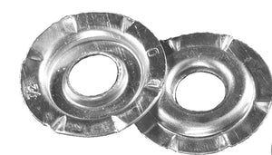 Buffing Wheel Adapter Flanges for common arbors,     10 pack
