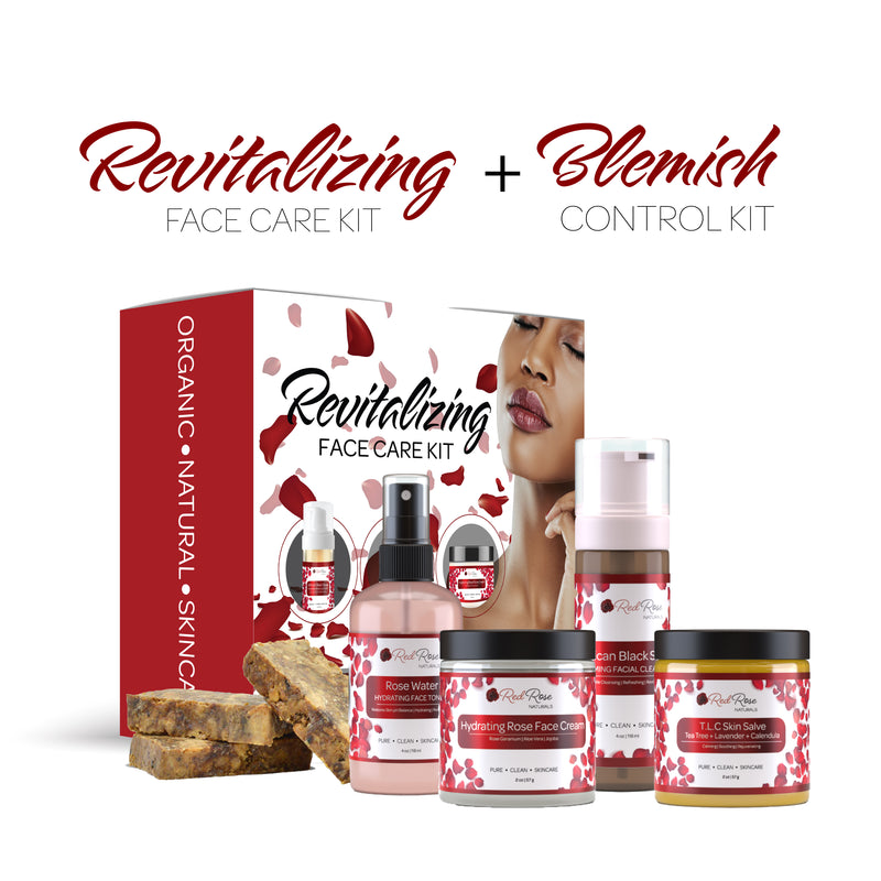 Revitalizing Face Care Kit + Blemish Control