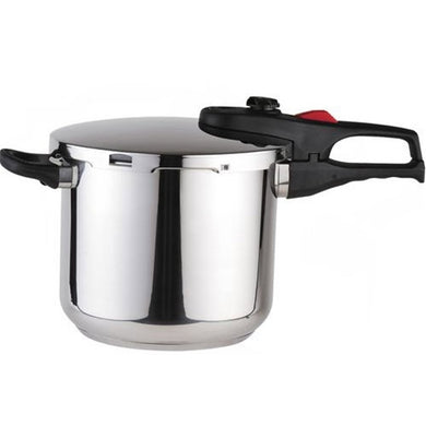 Practika Plus Stainless Steel 8 Quart Super Fast Pressure Cooker