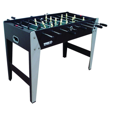 Tournament Sized 4-Ft Foosball Table with 4 Soccer Balls