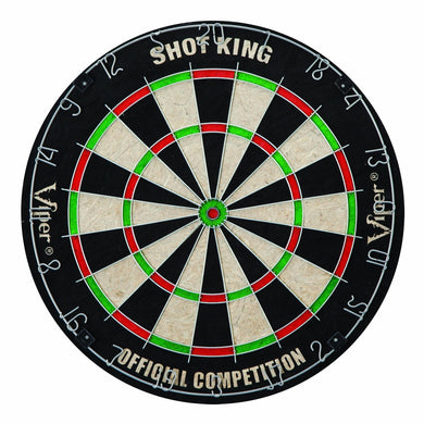 Official-sized Dartboard with Sisal Fiber Surface