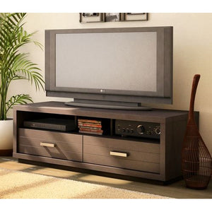 42-inch Eco-Friendly TV Stand in Chocolate Finish