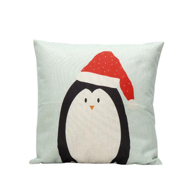 Super Deal Christmas Cartoon Decoration Festival Pillow Case Cushion Cover