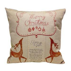 New Year christmas pillow cover decorative throw pillows pillowcase for the pillow 45*45 velvet covers
