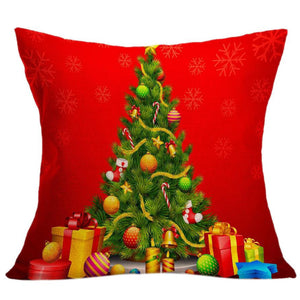 christmas pillow case cover decorative christmas for home pillow cases vintage retro pillowcase for the pillow 45*45