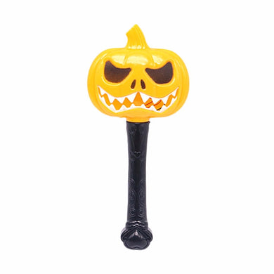 Halloween Pumpkin Ghost Magic Wand Luminous Witch Wand Funny Horror Scene Layout Children Toys Fine Gift Festival Decorations