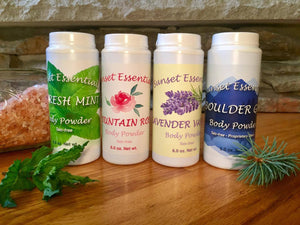 All Natural Body Powder Talc Free