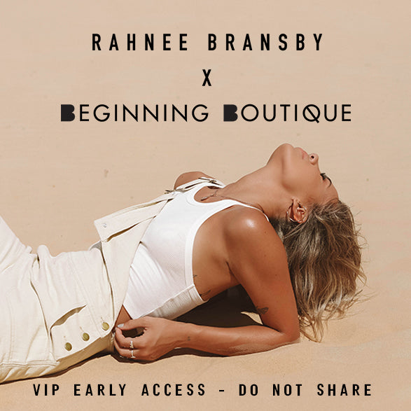 Rahnee Bransby Early VIP Access