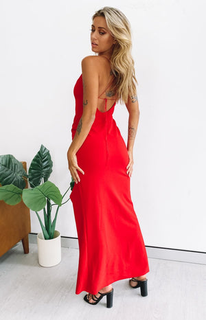Alissa Formal Dress Red