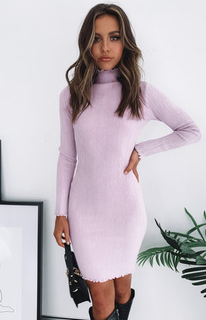 Alyssa Dress Lilac