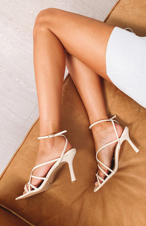Billini Scout Heels Off White