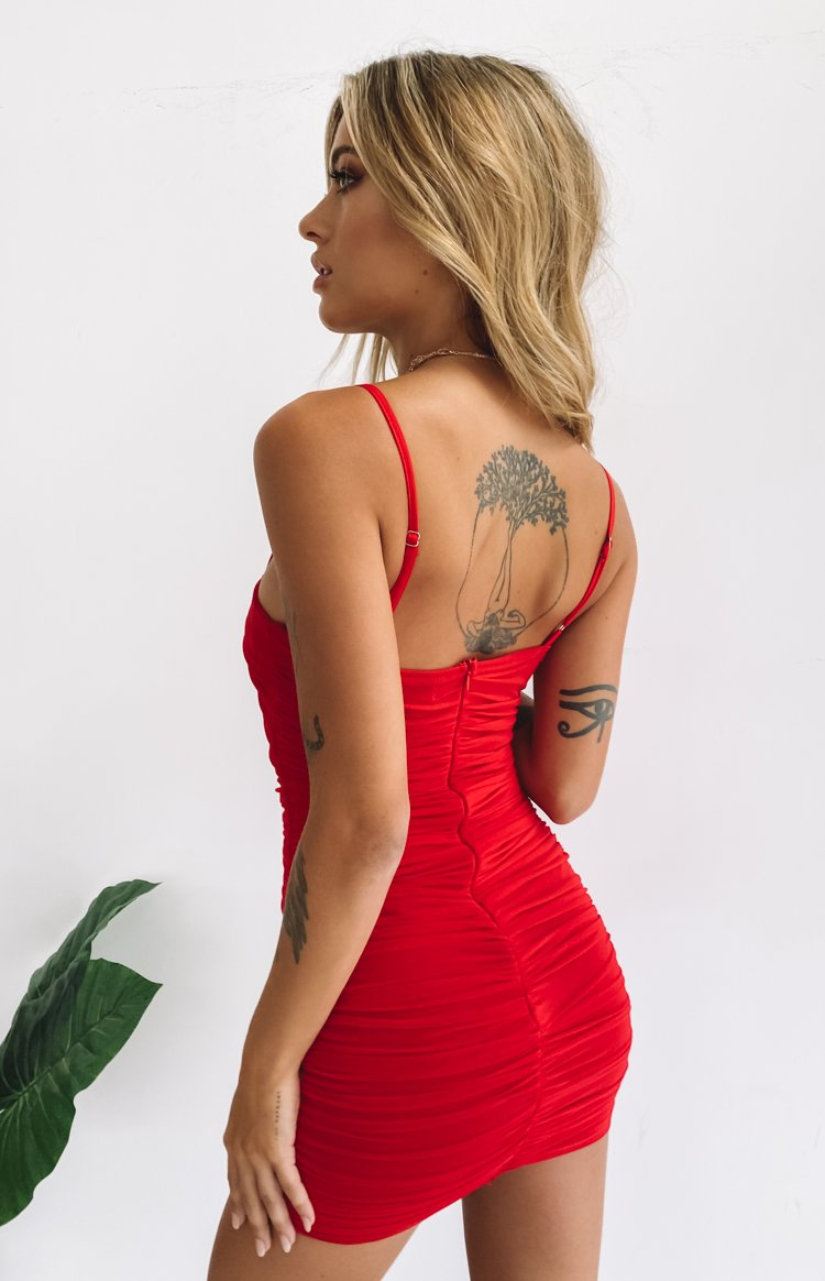 Crazy in Love Dress Red