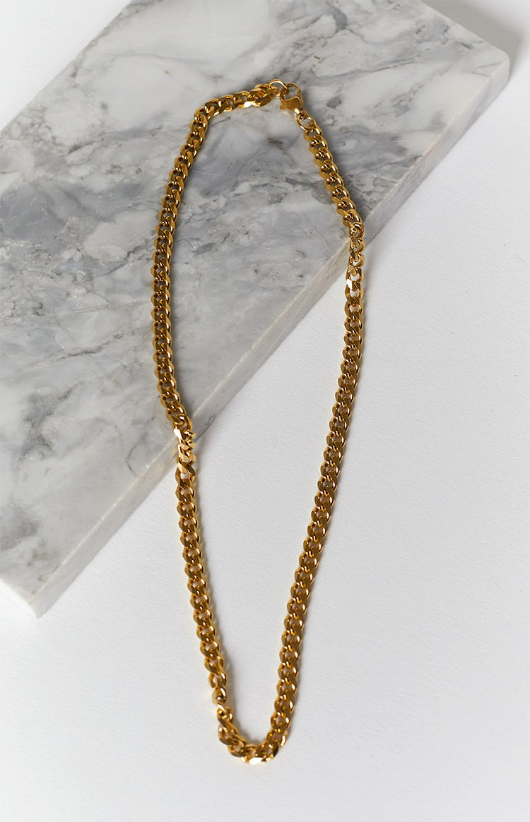 Eclat Cormac Chain Necklace Gold