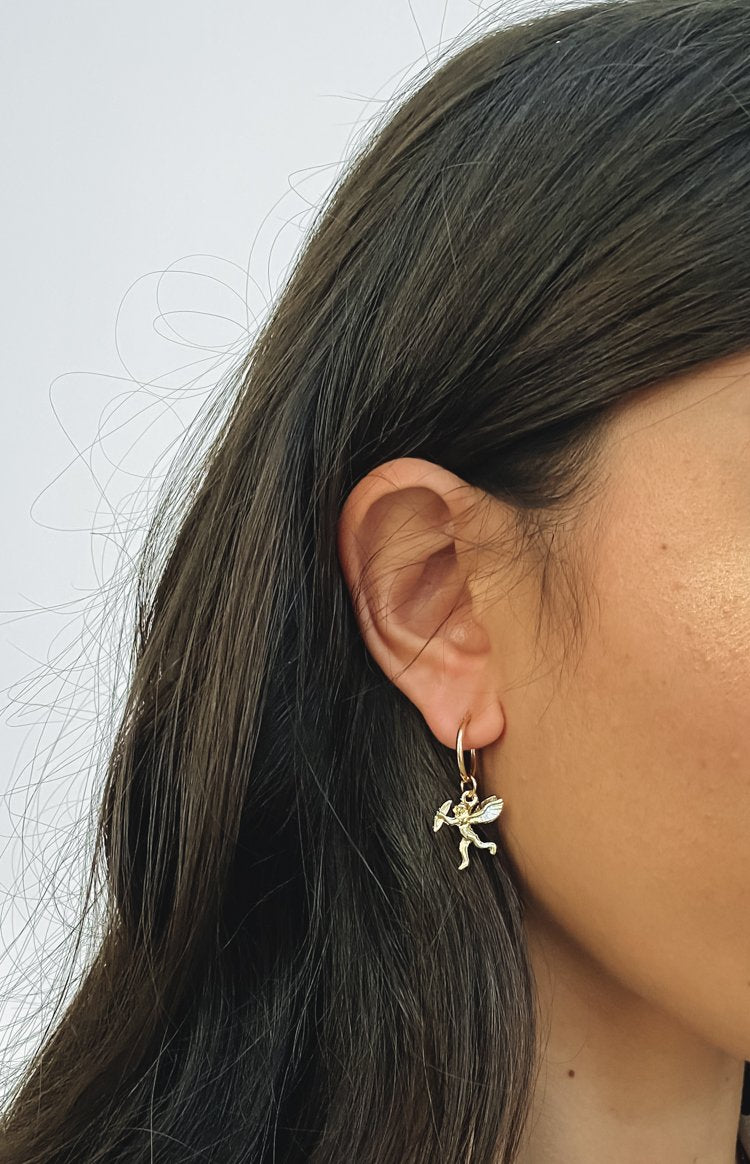 Eclat Tivona Earrings Gold