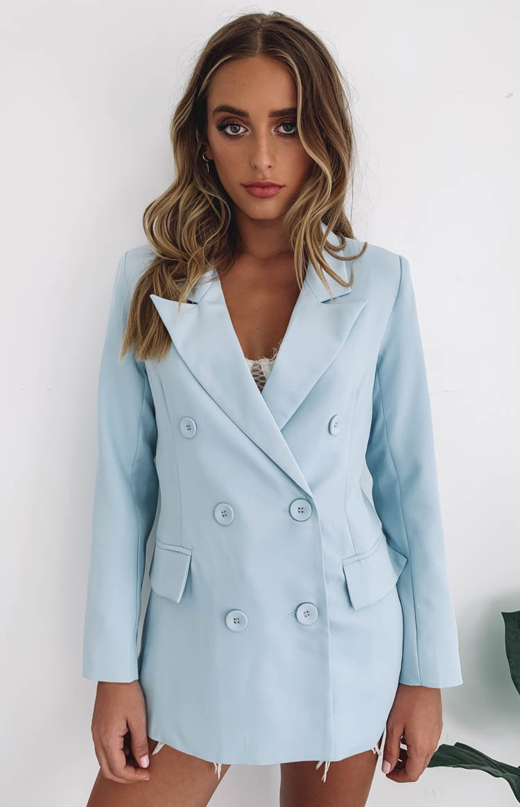 Lioness The Don Coat Blue