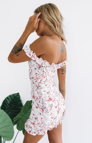 Live To Tell Dress Pink Floral