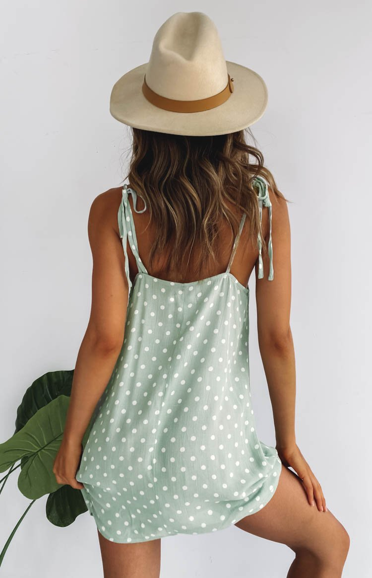 Mirage Mini Dress Mint
