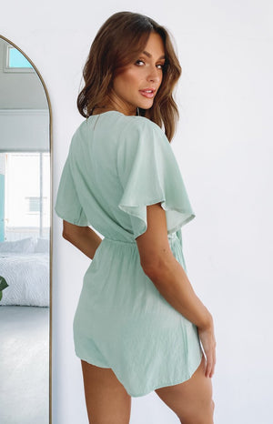 Noosa Playsuit Mint