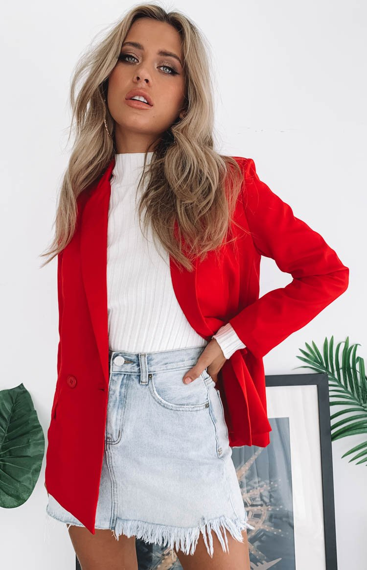 Teenage Dream Blazer Red