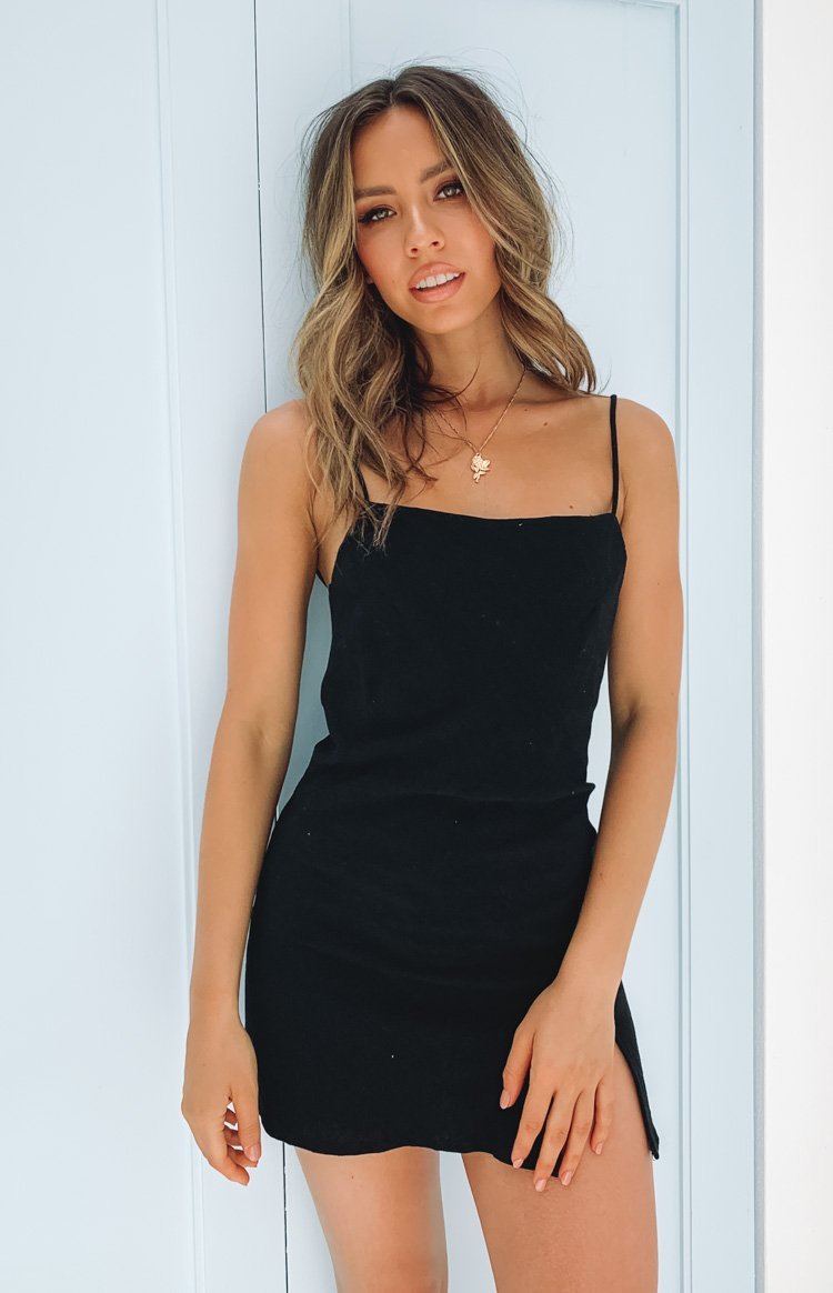 Ray Jean Dress Black