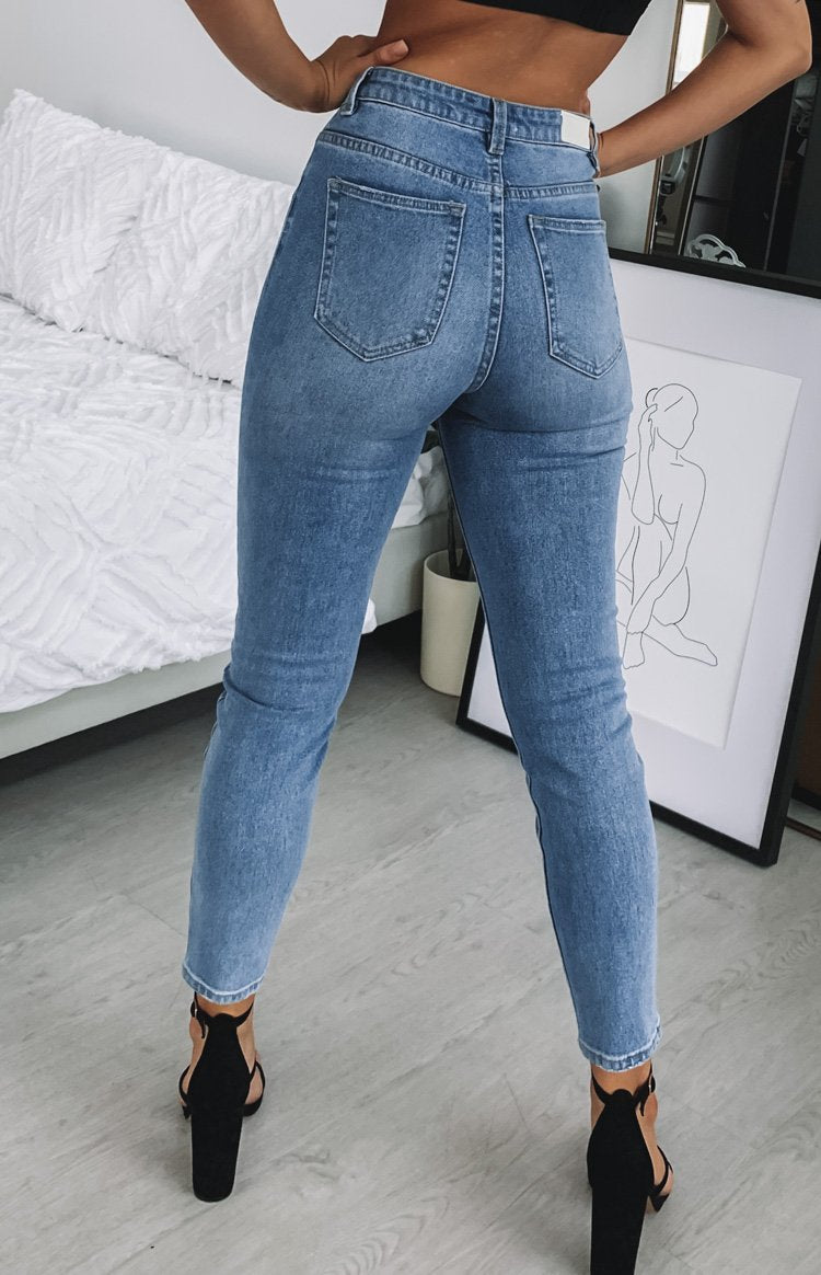 Ziggy Denim Skyscraper Jean Light Grainy Blue