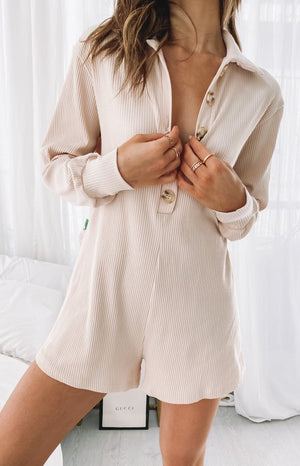 Twyla Playsuit Cream