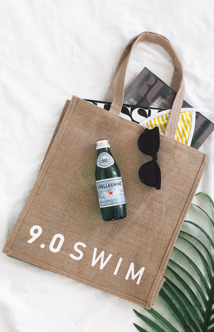 9.0 Swim Keppel Beach Bag White