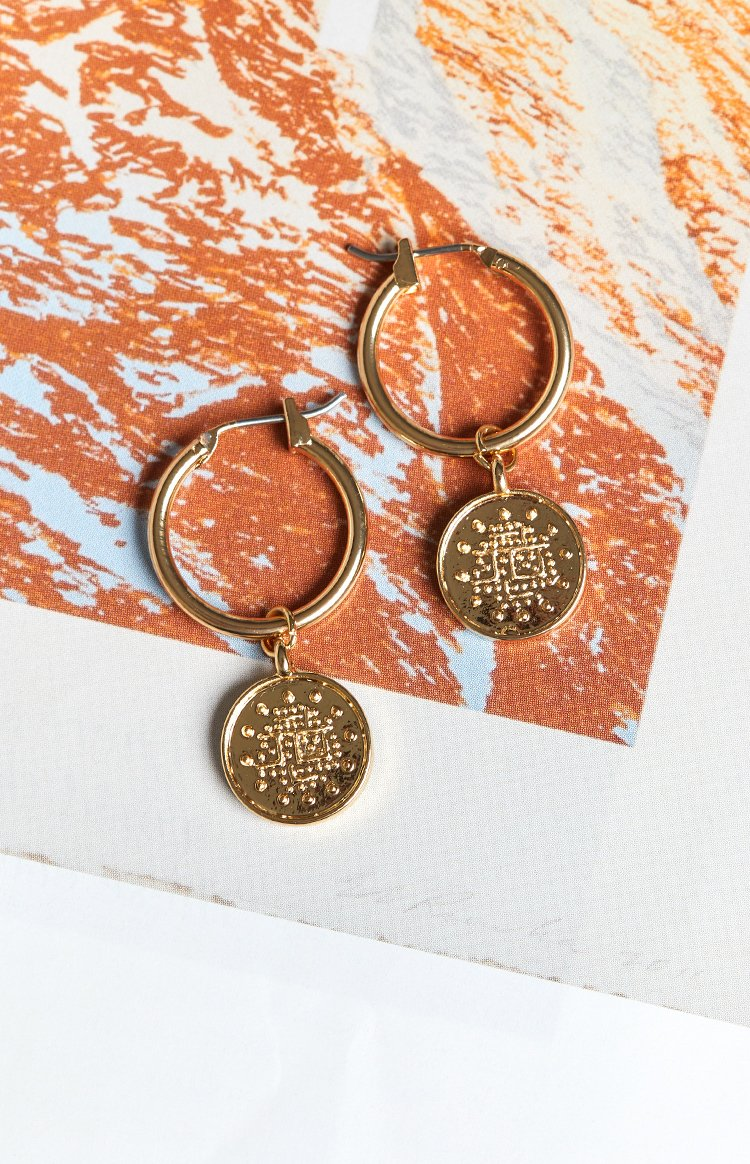 Eclat Alhambra Earrings Gold
