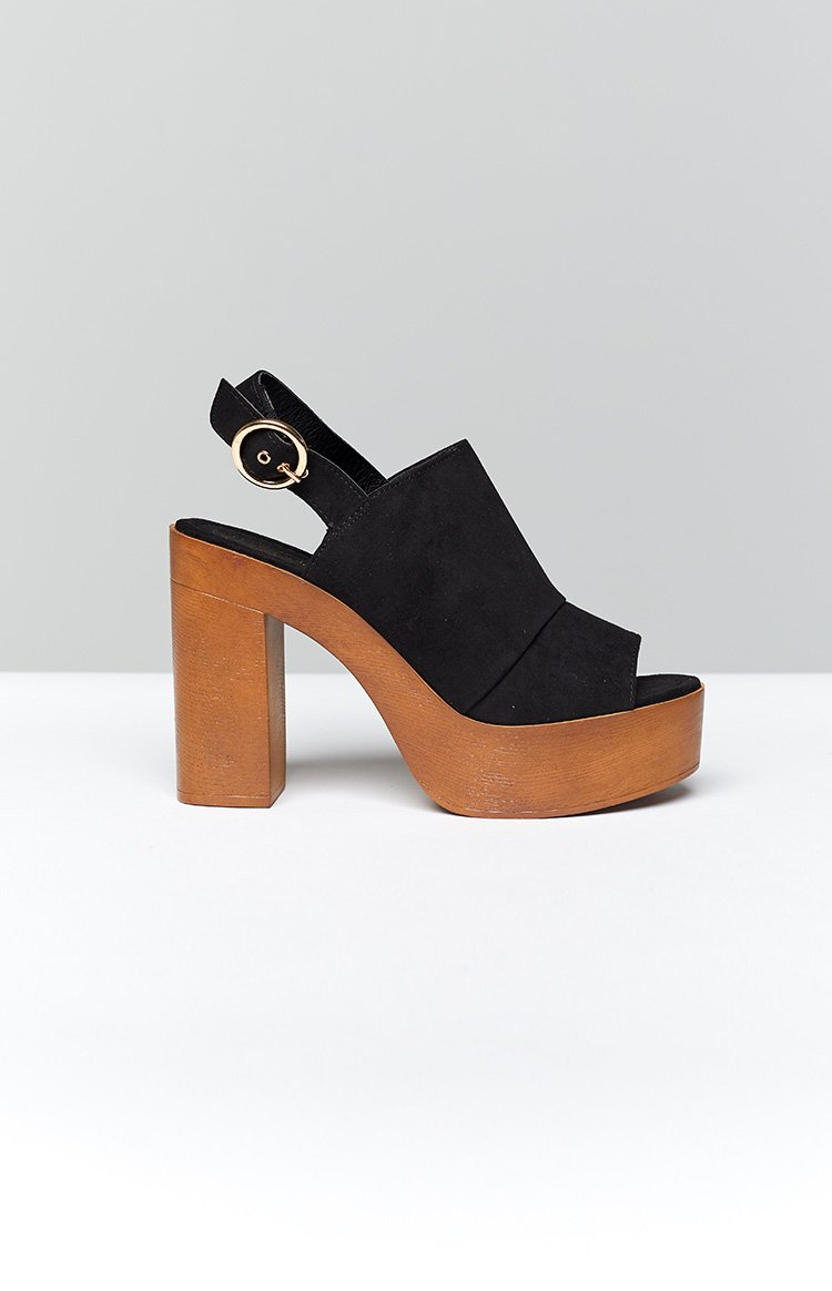 Therapy Ivy Heels Black