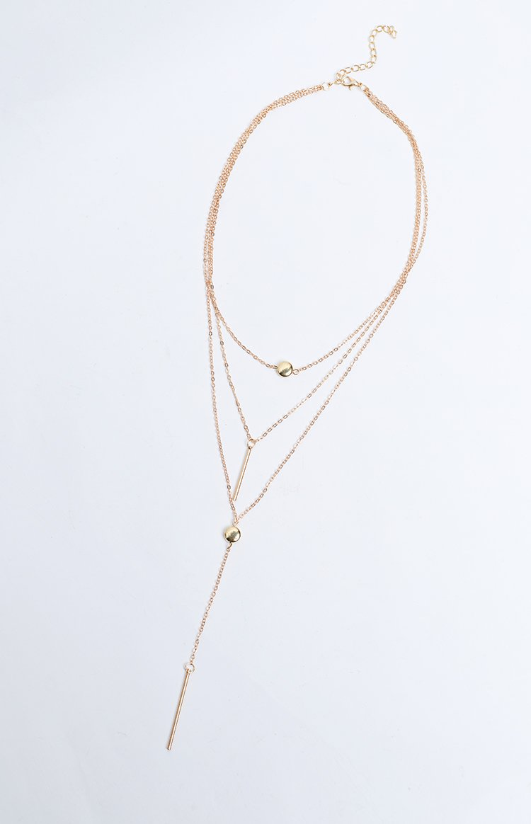 Eclat Layers Of Love Necklace Gold