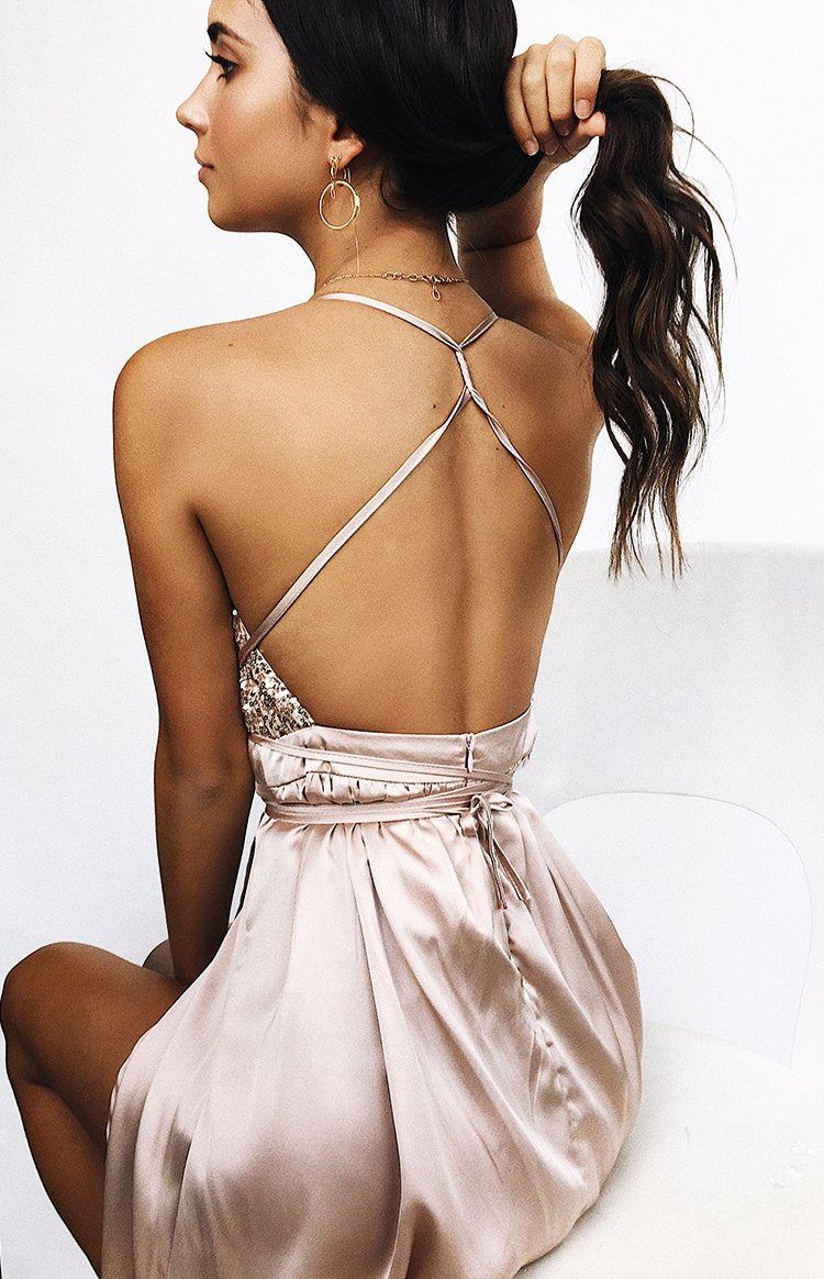 Patrice Formal Dress Champagne