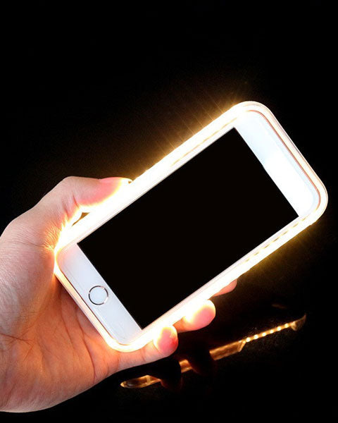 HOT! Trending LED Light to Illuminate Your Selfie iPhone Case