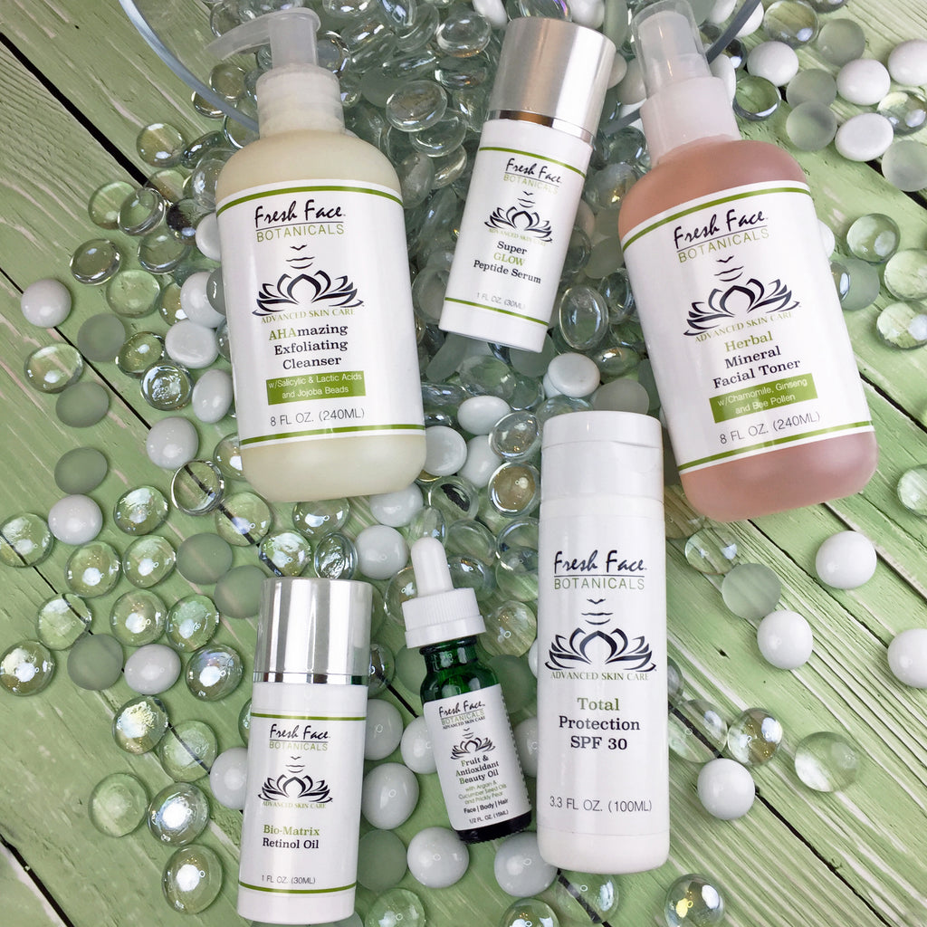 Fresh Face Botanicals Facial Skin Care Products