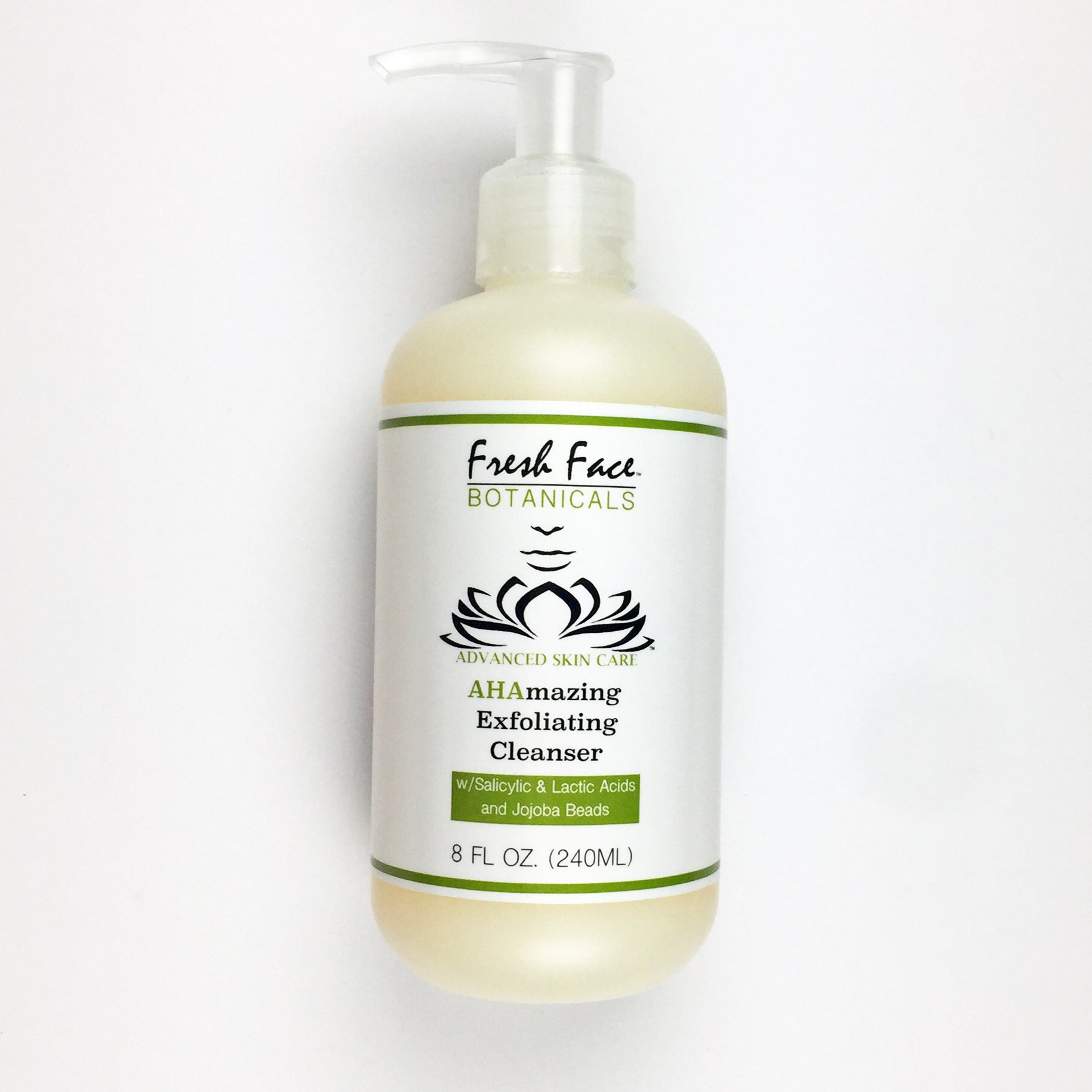 AHAmazing Exfoliating Facial Cleanser - Fresh Face Botanicals™ - Advanced Natural Skin Care