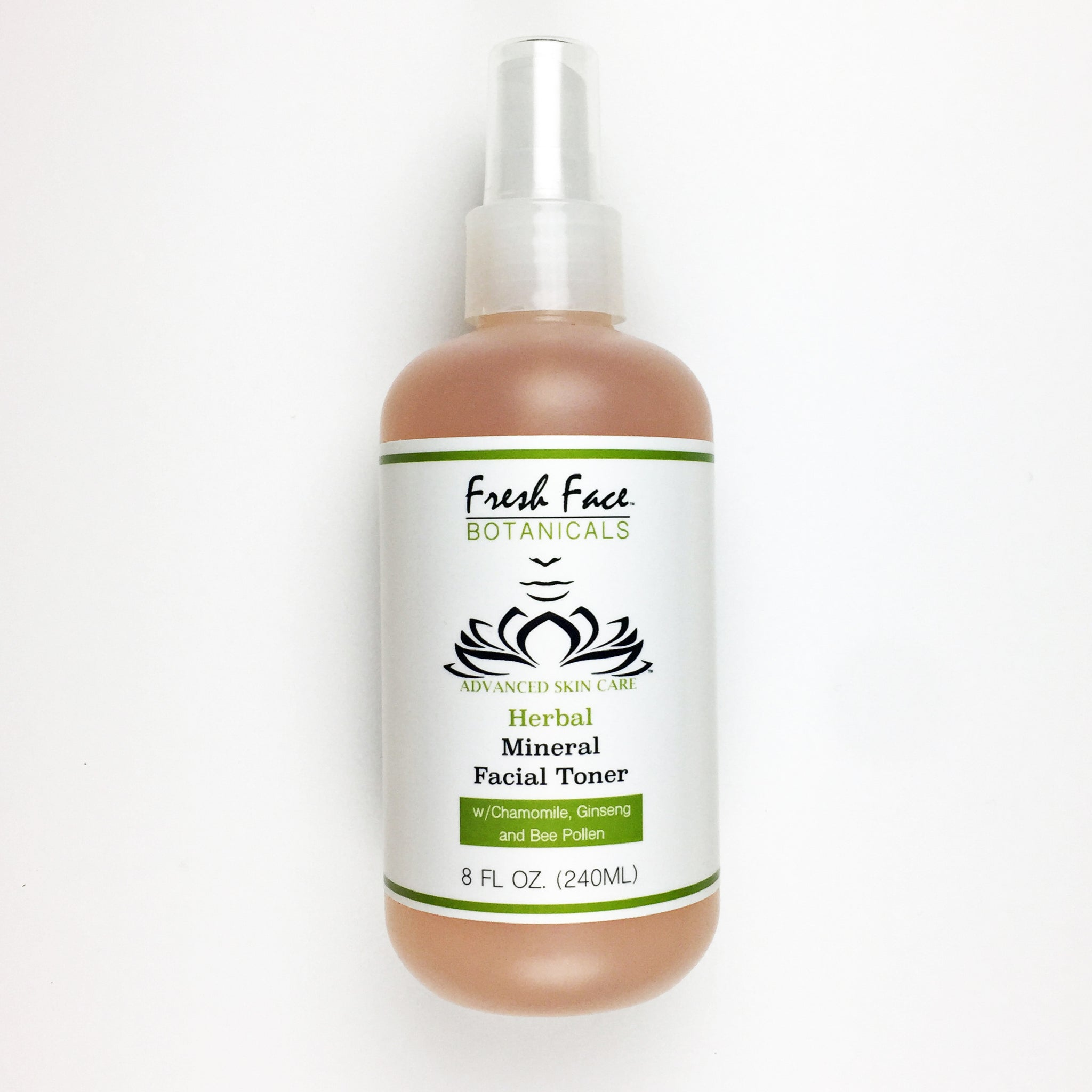 Herbal Mineral Facial Toner - Fresh Face Botanicals™ - Advanced Natural Skin Care